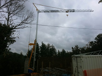 location de grue, vente de grue, montage de grue potain